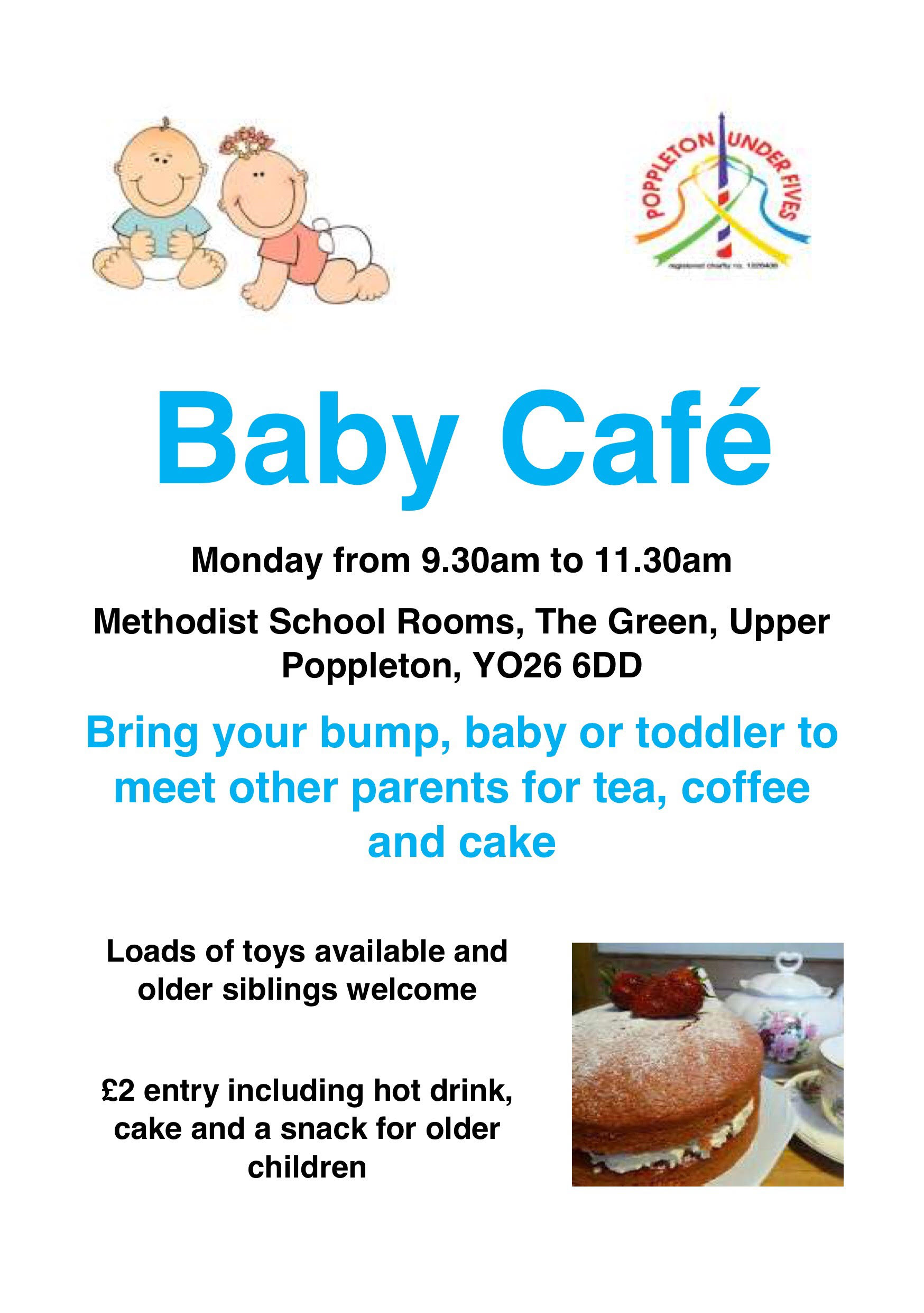 New Monday morning Baby Cafe